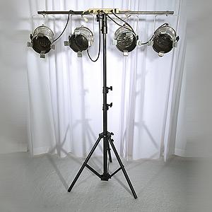 Par Can Lights on Stand