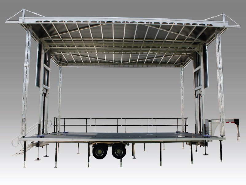 Apex 3224 Mobile Stage Rental In Central Mississippi At